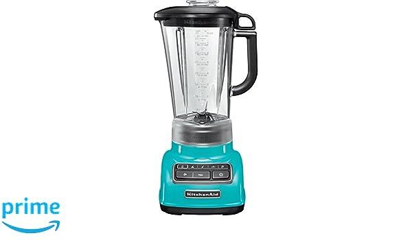 KitchenAid 5KSB1585ECL Crystal - Batidora de vaso, color azul: Amazon.es: Hogar