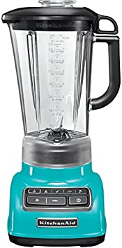 KitchenAid 5KSB1585ECL Crystal - Batidora de vaso, color azul: Amazon.es: Hogar