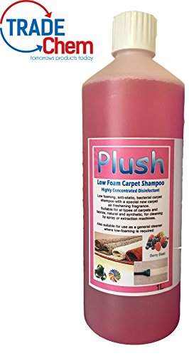 Carpet Cleaner Shampoo - Odour Deodoriser (inc Pet) - Concentrated 100:1 - 1L (Berry Blast)