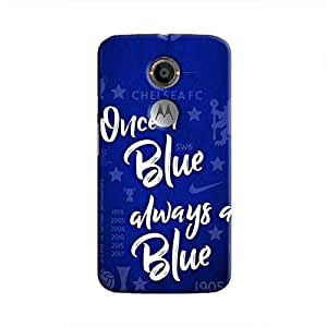 Cover It Up - Chelsea- Once a Blue Moto X2 Hard Case
