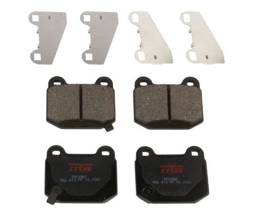TRW Black TPC0978 Premium Ceramic Rear Disc Brake Pad Set TRW Automotive