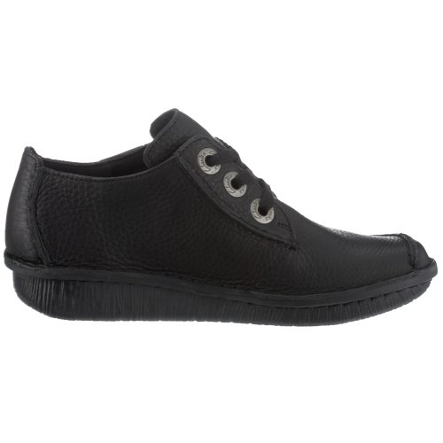 Ville Leather black Noir Clarks Dream Funny Chaussures De Femme qaWT7IBw