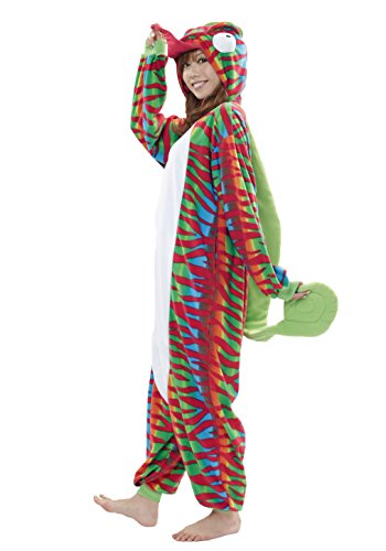 Chameleon Kigurumi - Adults Costume