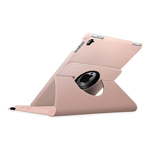 Fintie iPad Pro 9.7 Case - 360 Degree Rotating Stand Case with Smart Cover Auto Sleep / Wake Feature for Apple iPad Pro 9.7 Inch (2016 Version), Rose Gold Photo #2