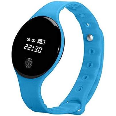 GOPG Smart Wristband Fitness bracelet Bluetooth Waterproof Fashion Sports Business Sleep Monitor For Men Women and Kids Pedometer Estimated Price £18.85 -