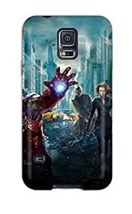 Heidiy Wattsiez's Shop 1707254K19385958 Hot Avengers Poster Tpu Case Cover Compatible With Galaxy S5
