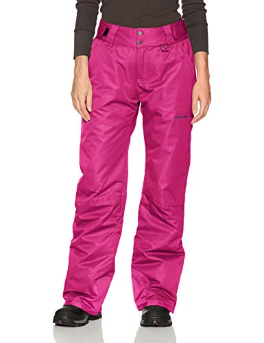 (Women's Insulated Snow Pant , Small/Regular, Orchid Fuchsia)