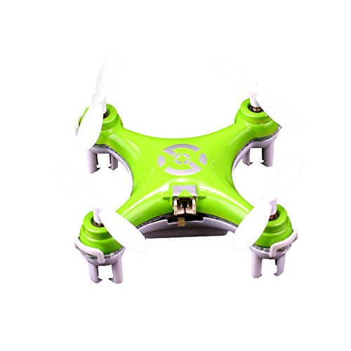 Niceroker Baby will Fly Green Cheerson CX-10 Mini RC Quadcopter by Suppion