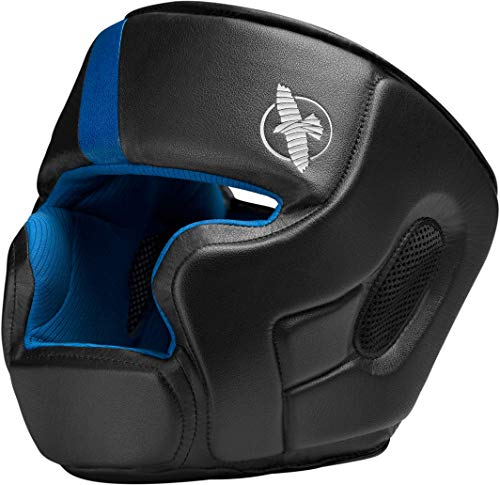 Hayabusa   T3 MMA and Boxing Headgear   Men and Women   Black/Blue   One Size