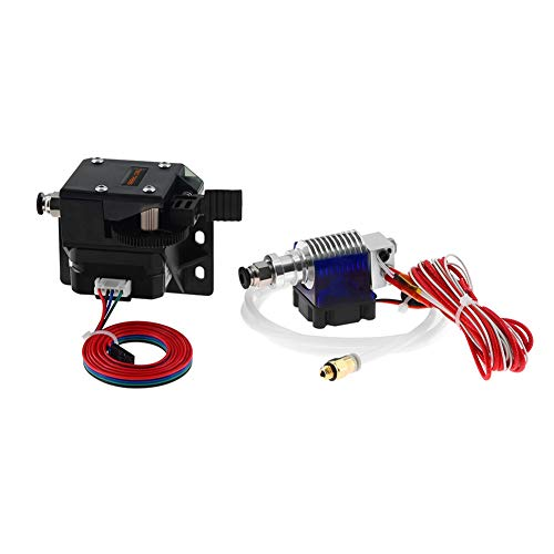 Usongshine Titan extruder nema 17 Extruder Complete Kit with NEMA Stepper Motor for 3D Printer Support Both Direct Drive and Bowden Mounting Bracket (with Motor and V6)