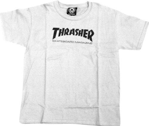 1b8672a86a Amazon.com: Thrasher Youth Skate Mag T-Shirt [Medium] White: Sports ...