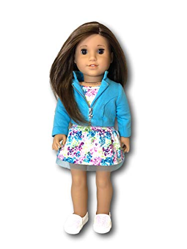 American Girl Truly Me Doll #68 - Brown Eyes, Layered Brown Hair, Light Skin Tone