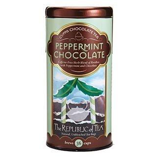 (The Republic of Tea - Peppermint Cuppa Chocolate Tea, 36 Tea Bags (Pack of 3))