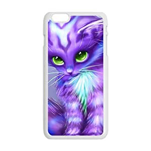 Cartoon hair Yellow category Cat can Phone Case for Iphone6 plus the