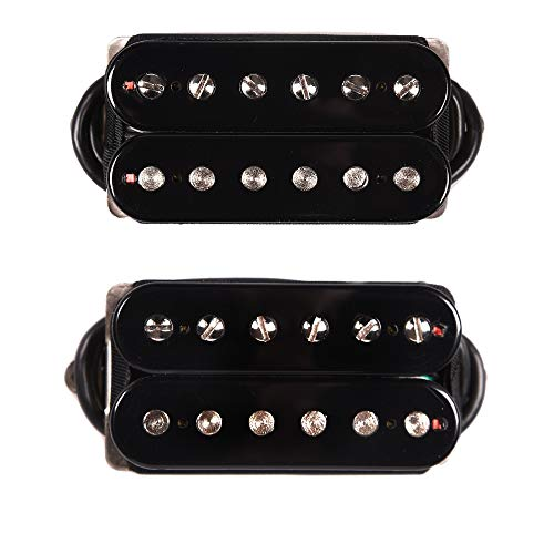 Bare Knuckle Bootcamp Humbucker Brute Force Set 6-String 50mm Black (Bare Knuckle Humbuckers)