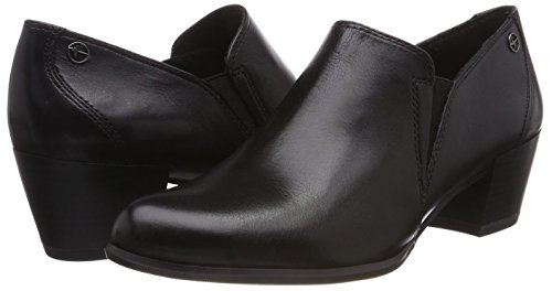 24400 003 Women''s Ankle Tamaris black Black Boots Leather 70q5nHwBF