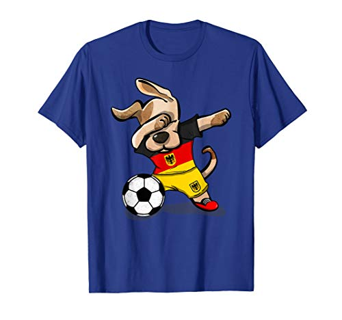 Dog Dabbing Soccer Germany Jersey Shirt 2019 German Football