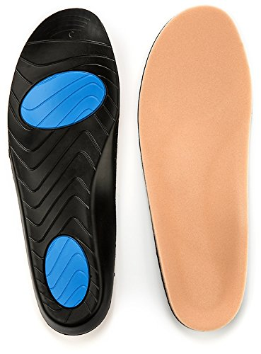 Prothotic Pressure Relief Insoles - The Original Foot Pain Relief Insole for Plantar Fasciitis, Aching, Swollen, Diabetic Or Sore Arthritic Feet! - B- Wm (7-8.5) - Mn (5-6.5) by Prothotics