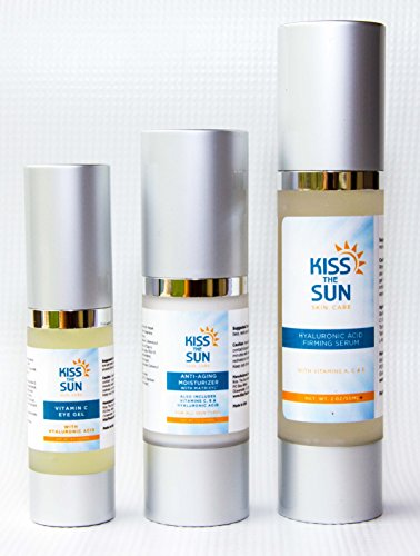 Summer Sale - Vitamin C Eye Gel ~ Concentrated Formula for best results ~ Remove Puffiness and Dark Circles From Under Your Eyes with Vitamin E, Peptides and Amino Acids by Kiss The Sun (Image #3)