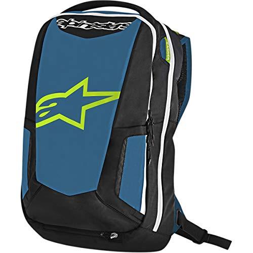 Alpinestars City Hunter Backpack (Black/Blue/Lime)