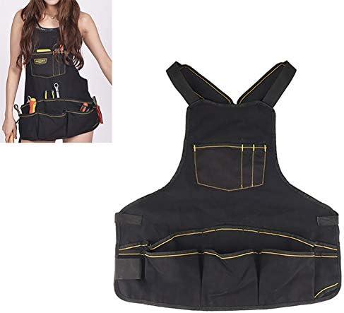 ガーデニングエプロン 16ポケット付き、完全に調整可能、防水&保護、男性&女性用