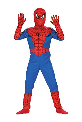 Spiderman Std Comic 7 To 8 Kids Boys Costume