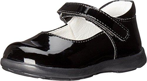 Primigi Kids Baby Girl's Andes (Toddler) Black Patent Shoe