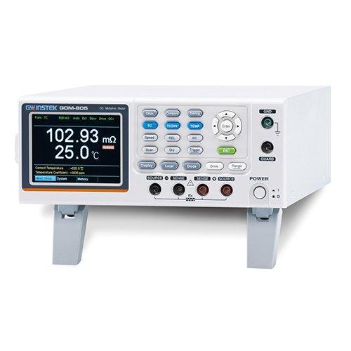 (Instek GOM-804GP DC Milliohm Meter, 50 mOhm - 5 MOhm, RS-232C, USB & GPIB Interface, Handler/Scan/IO)