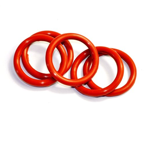 Cary 33mm ID 5mm Thickness Tube Dampers Silicone O-ring Amp for Shuguang 6l6g 6l6gc 6ca7 6l6gcr 10pcs