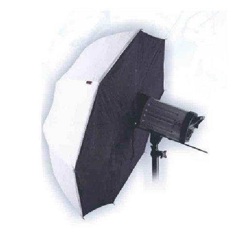 CowboyStudio 43in White Black Reflector Photo Studio Brolly Box