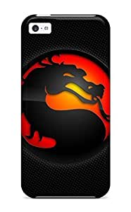 For SamSung Note 2 Case Cover Cover - Slim Fit Hard shell Protector Shock Absorbent Case (mortal Kombat Logo)