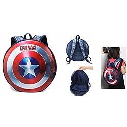 "Captain America Civil War Shield 17"" Backpack"