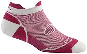 Darn Tough Merino Wool Double Cross No Show Tab Sock - Women's Berry Small