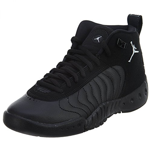 Jordan Nike Kids Jumpman Pro BG Black/White Black Basketball Shoe 5.5 Kids US