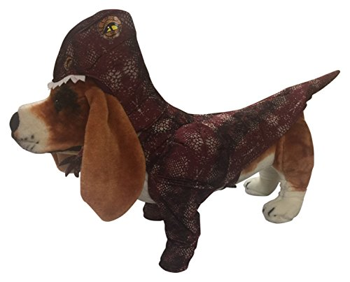 Animal Planet PET20109 Raptor Dog Costume, Size Medium (Frenchie Costumes)