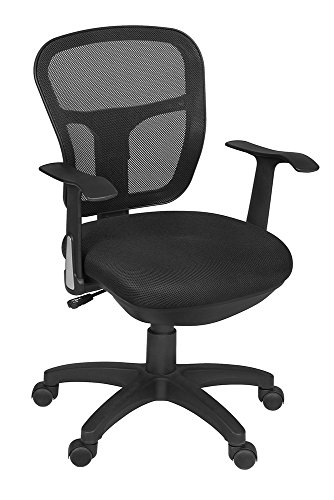 Niche Harrison Swivel Chair- Black by Niche