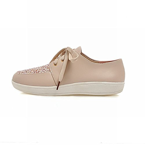 Oxfords Oxfords Womens Platform Lace Low Latasa Heel up Pink Fashion YqSnwd8