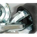 KIPPEN-2011C-Kit-Sicurezza-per-Moto-Scooter-e-bici-Composto-da-Catena-Antifurto-misura-10×1500-mm-Lucchetto-Cementato-Antiscasso-da-90-mm