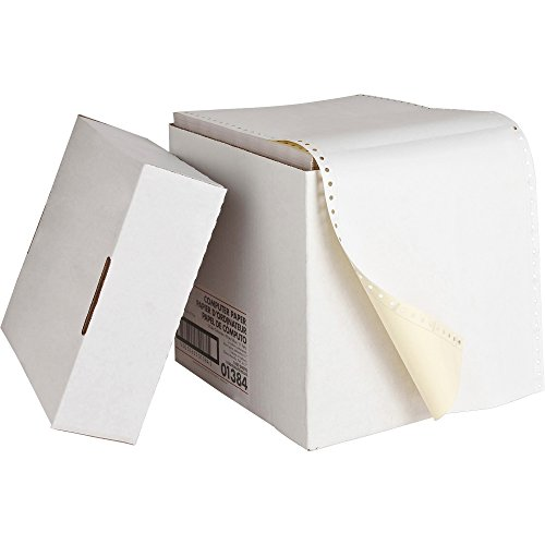 "Sparco 01384 Computer Paper,Multipart,2 Part,9-1/2""x11"",1850/CT,WE/CA"