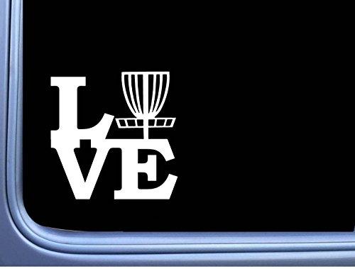 Disc Golf Love L770 6 inch Sticker Putter Driver Basket Decal