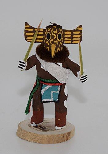 Miniature Hopi Great Horn Owl Kachina (Kachina Owl Doll)