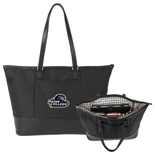 Paine Stella Black Computer Tote 'Primary Mark' by CollegeFanGear