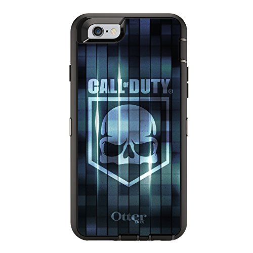 OtterBox DEFENDER Case for iPhone 6/6s - Frustration Free Packaging - CALL OF DUTY BLUE CAMO