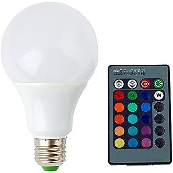 Captivating SUPERNIGHT E27/E26 9W RGB LED Light Bulb 16 Colors Changing Dimmable Multi  Color LED Awesome Ideas