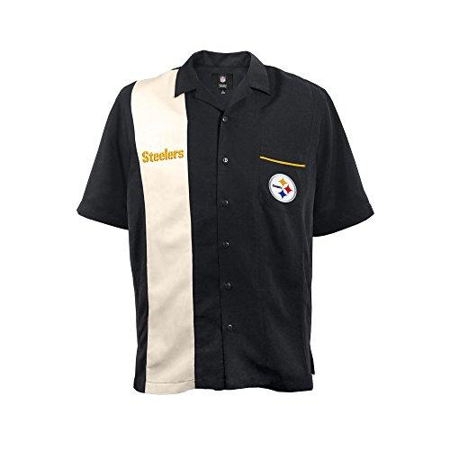 NFL Pittsburgh Steelers  Strike Men's Bowling Shirt, Plus, 4XL - Nfl Pittsburgh Steelers Ultimate Fan