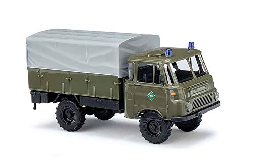 Busch 51651 Robur LO 1801 A Police HO Scale Model Vehicle