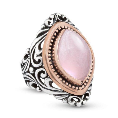 Rose Quartz Ring Amazon