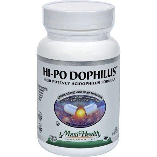 Maxi Health Kosher Vitamin Hi-Po Dophilus 60 cap ( Multi-Pack)