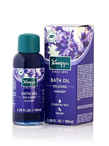 (Kneipp Lavender Herbal Bath Oil, Relaxing Soak, 3.38 fl. oz. )