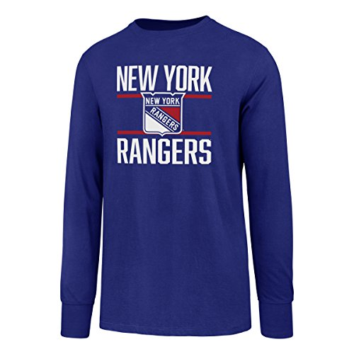 (NHL New York Rangers Men's Ots Rival Long sleeve Tee, Large,)